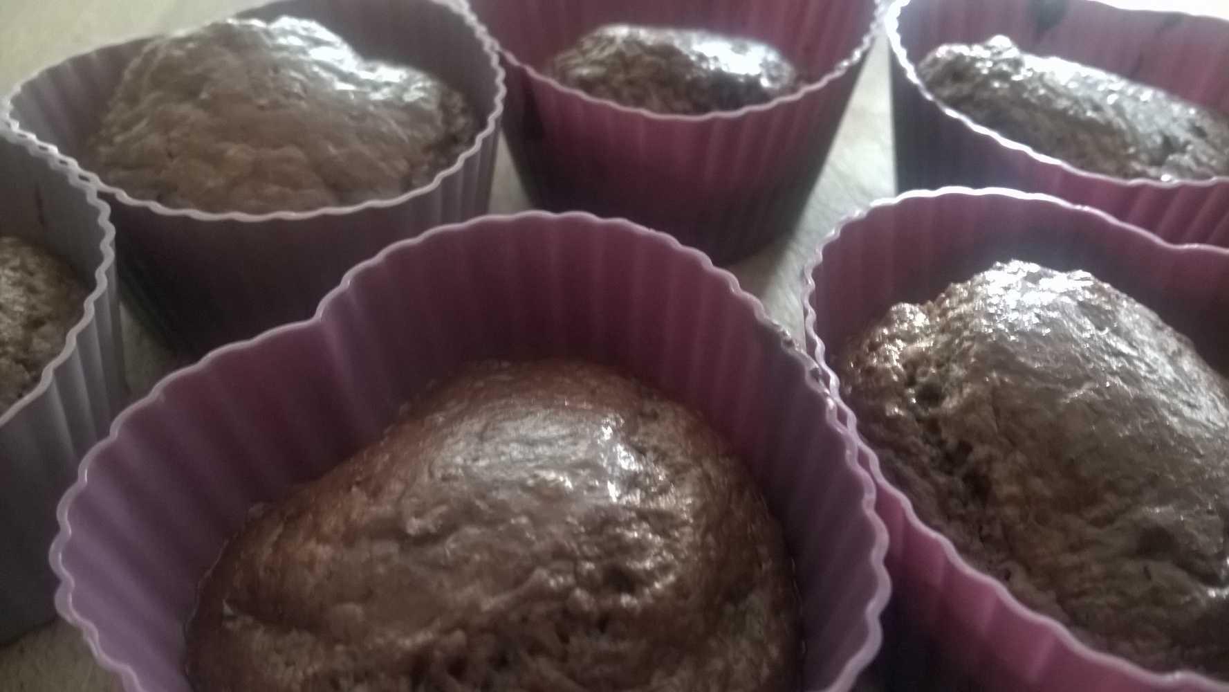 Heerlijke choco-cupcakes.