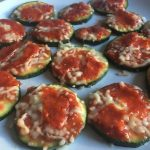[recept] Mini-pizza's courgette
